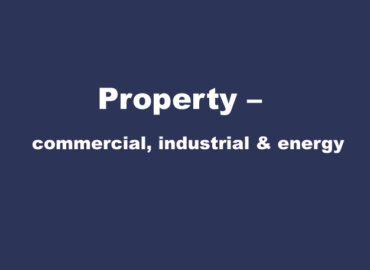 Property – commercial, industrial & energy